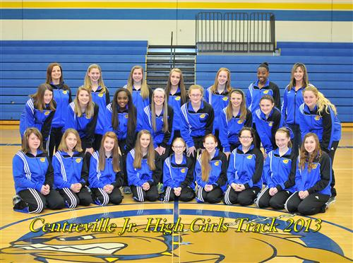 Junior High Girls Track 2013